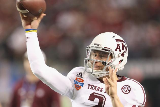 Aggies' Spring Loaded with Work for Manziel