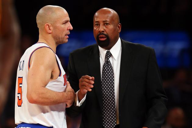 Kidd out of Knicks' Starting Role & Back on Point