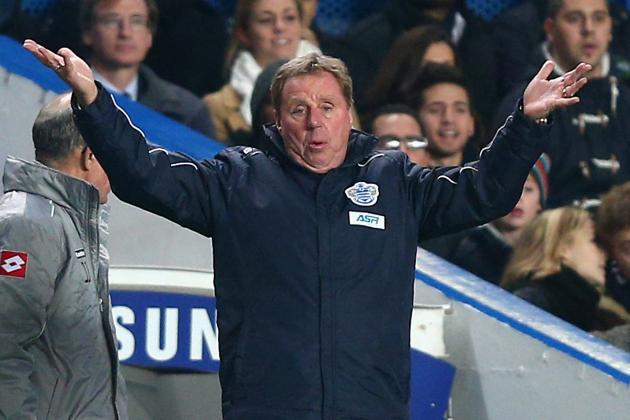 Harry Redknapp Dismissed QPR Drinking Allegations