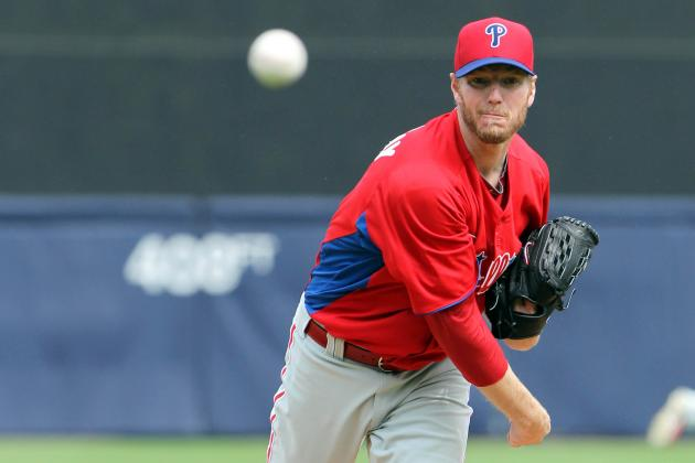 Phillies' Roy Halladay Shows Signs of Returning to Form