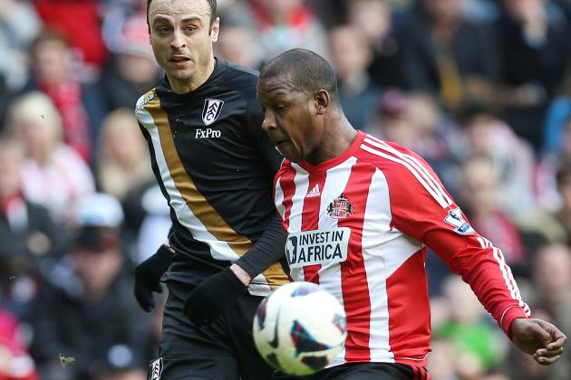 Sunderland Draws Fulham 2-2