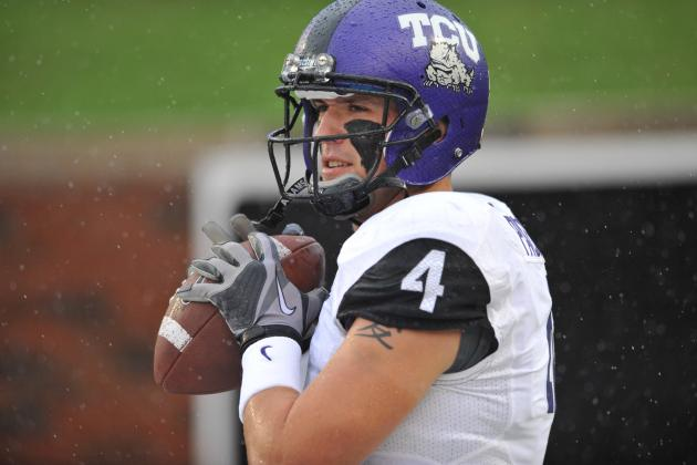 Patterson Doesn't Say It, but Pachall Is TCU's No. 1 QB