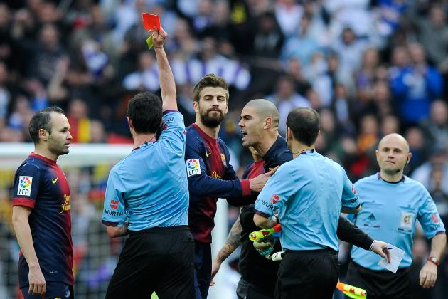 Valdes Arrested After Punching Referee