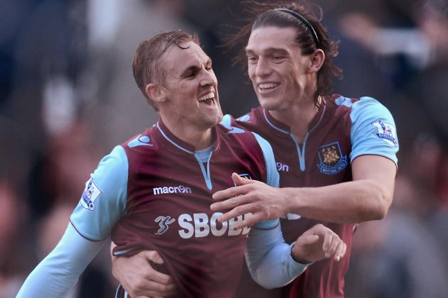 West Ham United's Jack Collison Strikes to Sink Stoke City