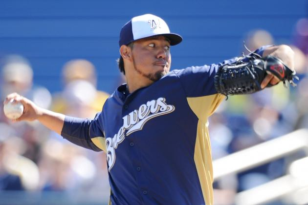 Yovani Gallardo Dealing with Groin Tightness