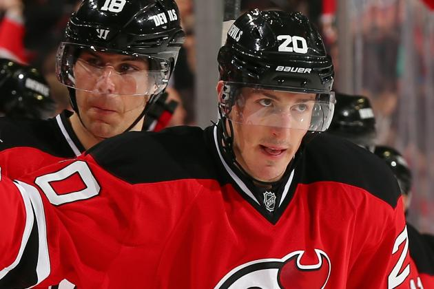Carter Returns to Devils' Lineup; Barch, Volchenkov, Harrold to Sit