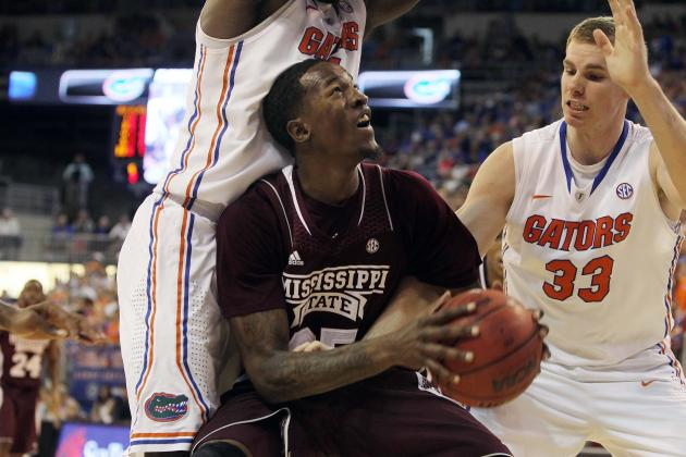 Twitter / Bmarcello: Mississippi State Forward Roquez ...
