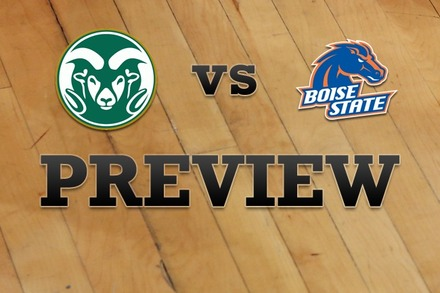 Colorado State vs. Boise State: Full Game Preview