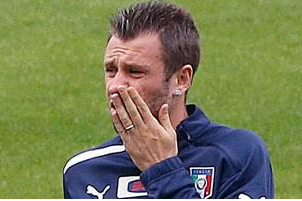 Cassano Fined for Strama Row