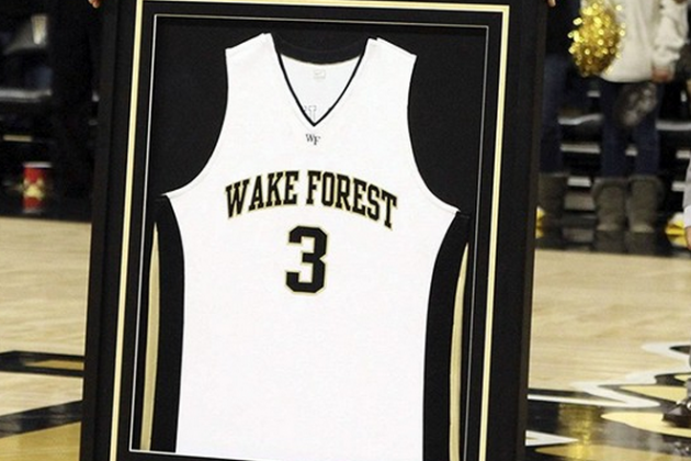Wake Forest Retires Chris Paul's Jersey