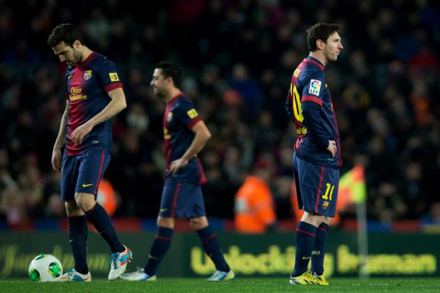 Lionel Messi's Teammates Must Improve for Barcelona to Survive in UCL