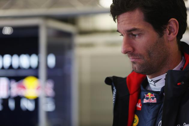 'Small Things' Hamper Red Bull -- Mark Webber