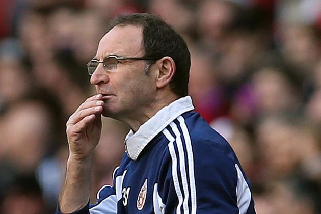 Martin O'Neill Disappointed His Sunderland Side Did Not Beat Fulham