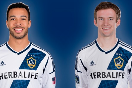 LA Galaxy Sign Pair of SuperDraft Selections