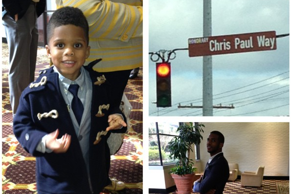 Chris Paul's Son Joins Instagram; Enjoys Chris Paul Day with Dad