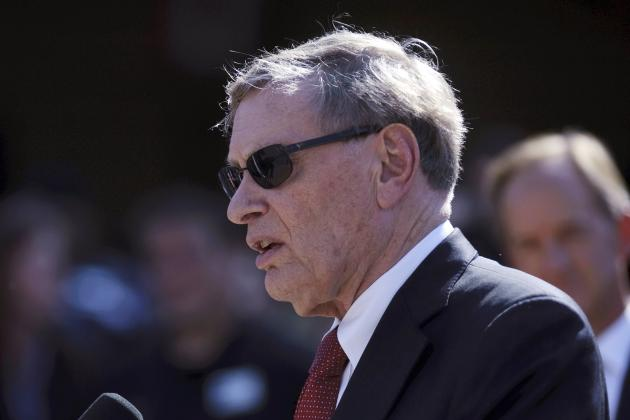 Bud Selig Wants Tougher Penalties for Performance-Enhancing Drugs