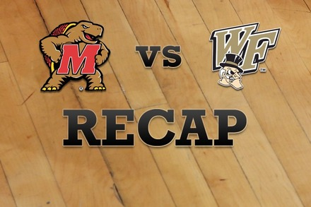 Maryland vs. Wake Forest: Recap, Stats, and Box Score