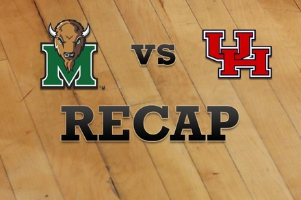 Marshall vs. Houston: Recap, Stats, and Box Score