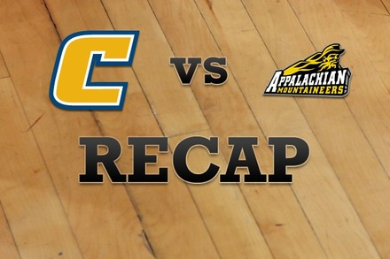Chattanooga vs. Appalachian State: Recap, Stats, and Box Score