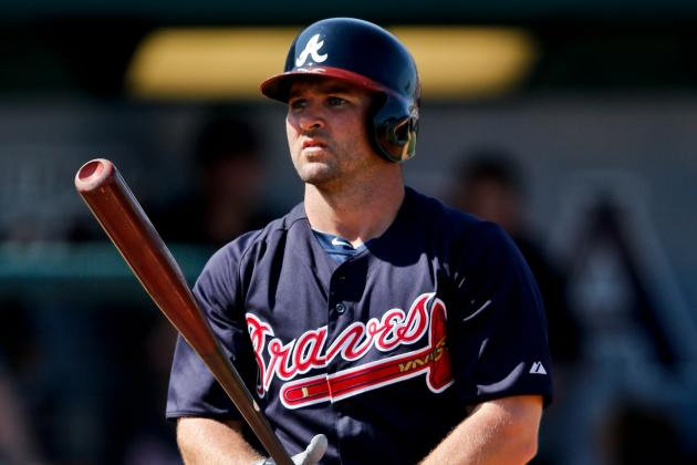 Braves' Uggla Confident He'll Warm Up After Cold Start to Spring