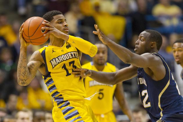 Marquette Tops Irish for 25th Straight Home Win