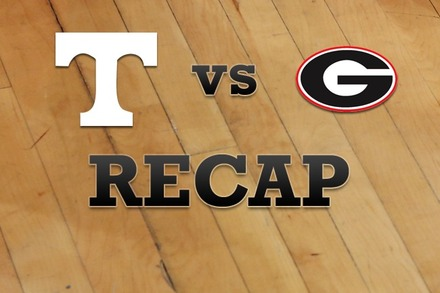 Tennessee vs. Georgia: Recap, Stats, and Box Score