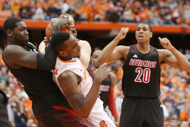 Syracuse's Centers Absent in Orange's Loss to Louisville
