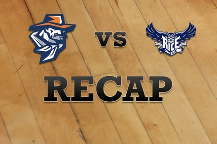 UTEP vs. Rice: Recap, Stats, and Box Score