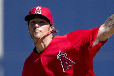 C.J. Wilson makes spring debut in Angels' 4-3 loss to Brewers