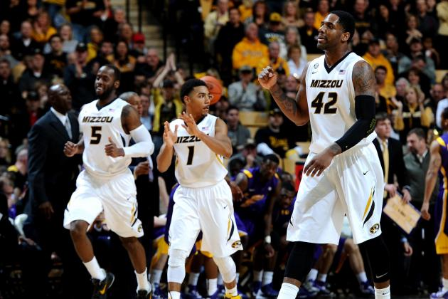 Missouri Men's Basketball Dominates LSU at Home