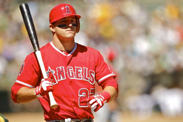 Mike Trout's Contract Renewed by Angels for $20,000 Over MLB Minimum