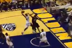 Tyrone Wallace Had a Thunderous Dunk for Cal Against Colorado | the Big Lead
