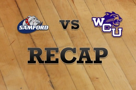 Samford vs. Western Carolina: Recap, Stats, and Box Score