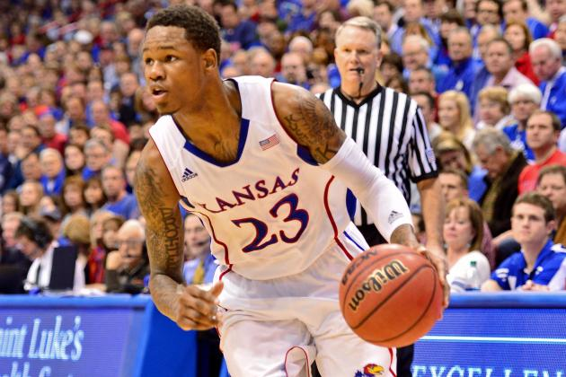 McLemore Goes for 36 Points in Kansas' Easy Win over West Virginia