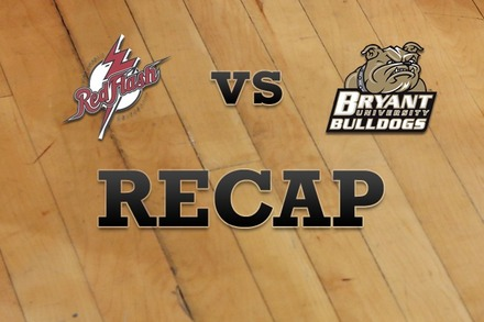 St. Francis (PA) vs. Bryant University: Recap, Stats, and Box Score