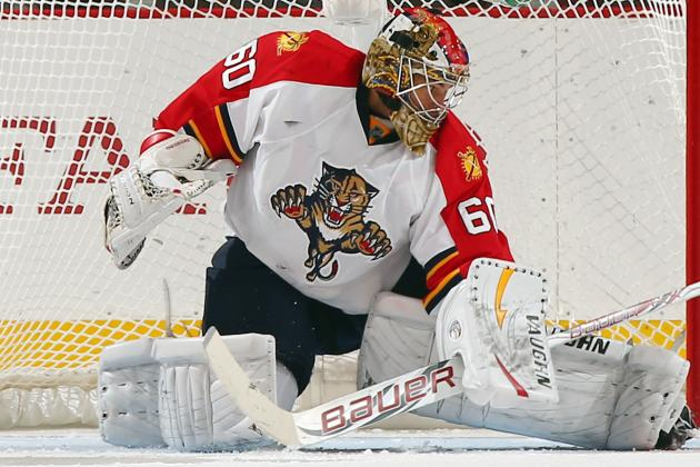 Panthers' Theodore Injured Early, Leaves Game