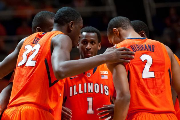 Illini Basketball Closer to NCAA Bid with Senior Day Victory