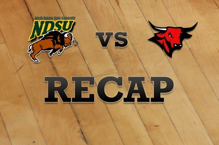 North Dakota State vs. Nebraska-Omaha: Recap, Stats, and Box Score