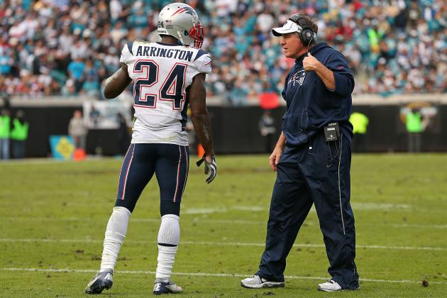 Kyle Arrington Hopes to Return to the Pats
