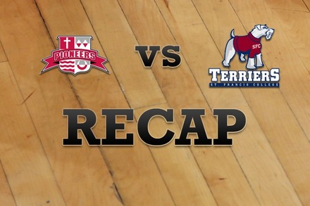 Sacred Heart vs. St. Francis (NY): Recap, Stats, and Box Score
