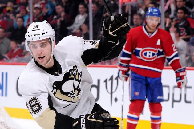 Sutter's Goal Gives Penguins Wild Win vs. Habs