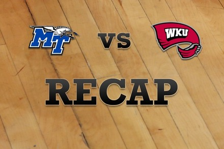 Middle Tenn State vs. Western Kentucky: Recap, Stats, and Box Score