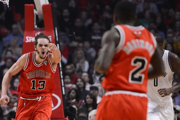 Noah Leads Bulls over Nets