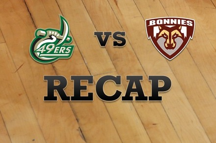 Charlotte vs. St. Bonaventure: Recap, Stats, and Box Score