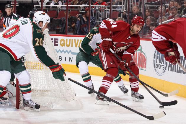 To Challenge for a Playoff Spot, the Phoenix Coyotes Must Be More Disciplined