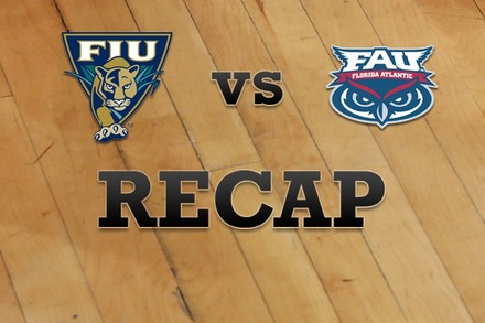 FL Internationial vs. Florida Atlantic: Recap, Stats, and Box Score