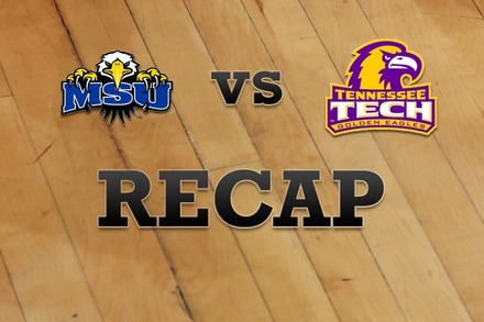 Morehead State vs. Tennessee Tech: Recap, Stats, and Box Score