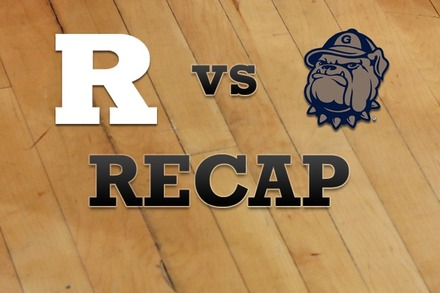 Rutgers vs. Georgetown: Recap, Stats, and Box Score