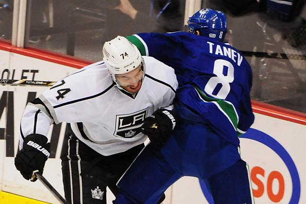 Canucks 5, Kings 2