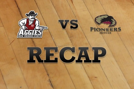 New Mexico State vs. Denver: Recap, Stats, and Box Score